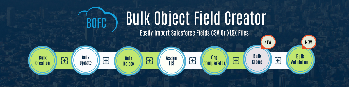 Salesforce Bulk Object Field Creator