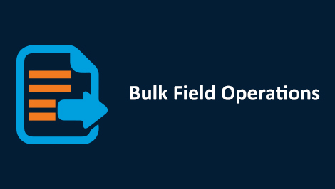 Salesforce Bulk Field Operations