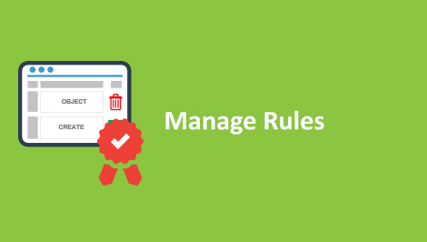 Salesforce Manage rules
