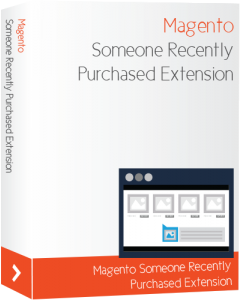 Magento Someone Recently Purchased Extension