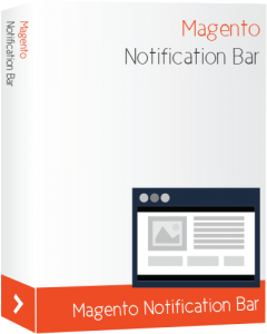 Magento Notification Bar